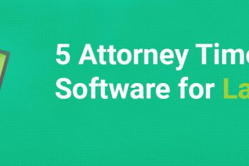 attorney time tracking software