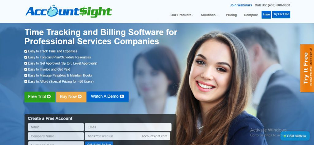 free attorney time tracking software accountsight