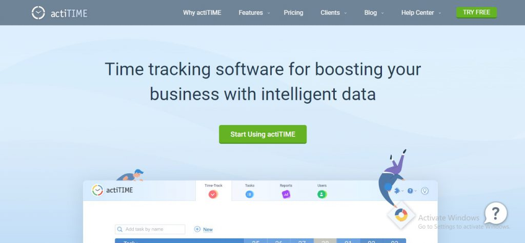 free attorney time tracking software actitime