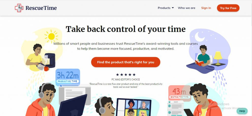 free attorney time tracking software rescuetime